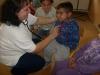 Beseda so zdravotnou sestrou pani Máriou Molitorisovou na temu -V zdravom tele, zdravý duch -ŠKD