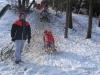 Šantenie na snehu -4.B
